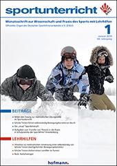 Neue Ausgabe Zeitschrift Sportunterricht: Januar 2019